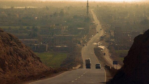 Syryjskie miasto Deir ez-Zor - Sputnik Polska