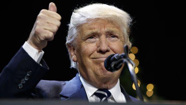 Prezydent elekt Donald Trump - Sputnik Polska