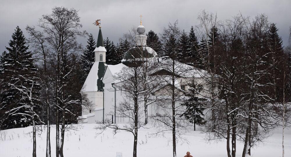 Chrzest Pański w obwodzie nowogrodzkim