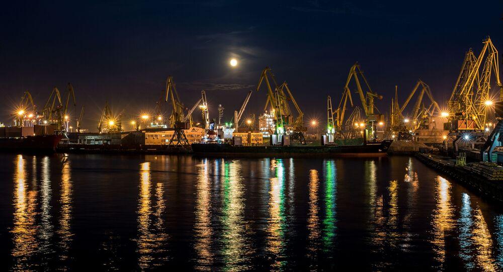 Port morski w Odessie