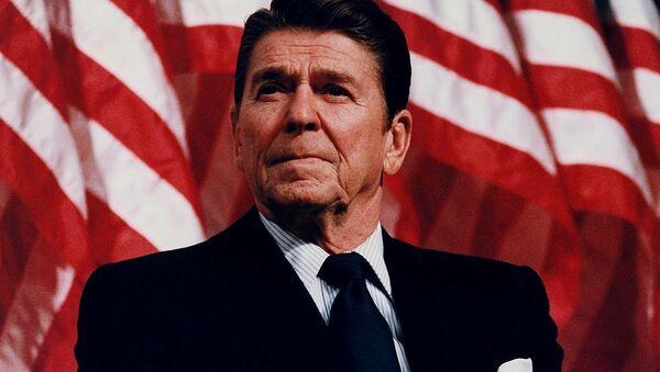 Reagan w Minneapolis, Minnesota, 1982 - Sputnik Polska