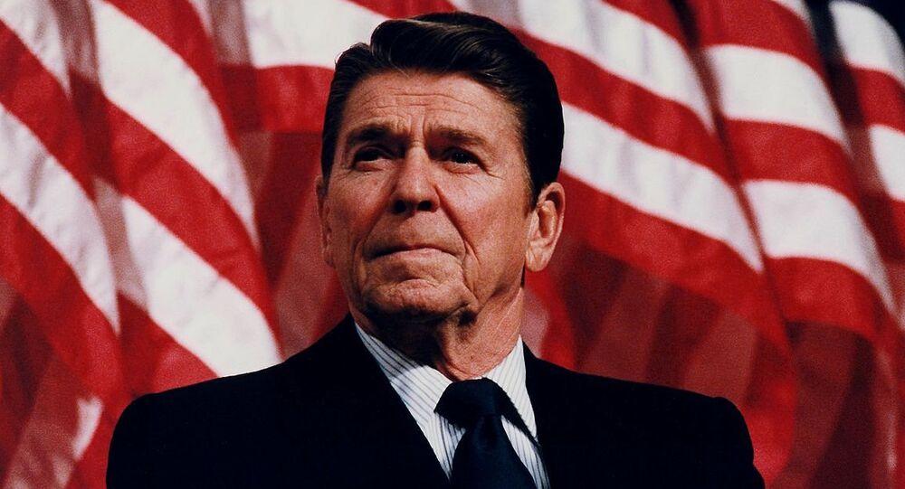 Reagan w Minneapolis, Minnesota, 1982