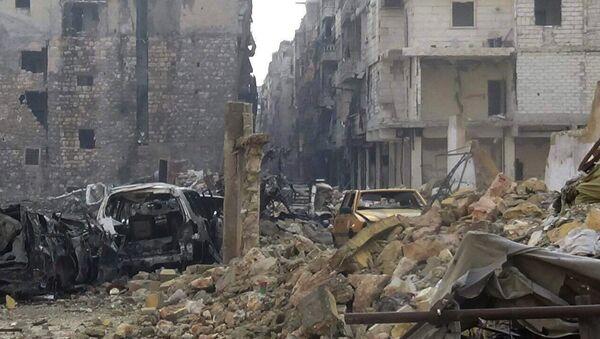 Ostatni wyzwolony kwartał wschodniego Aleppo - As-Sukkari - Sputnik Polska