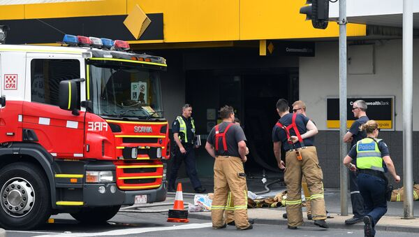 Straż pożarna na miejscu ataku w Melbourne - Sputnik Polska