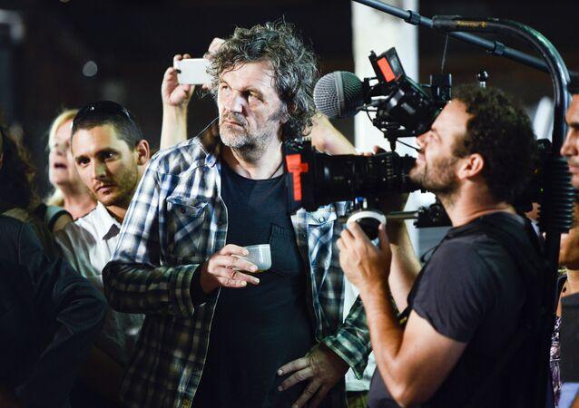Serbski reżyser filmowy Emir Kusturica