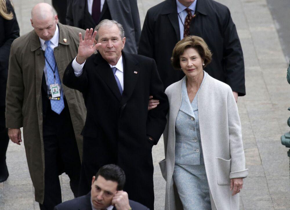 George W. Bush i Laura Bush