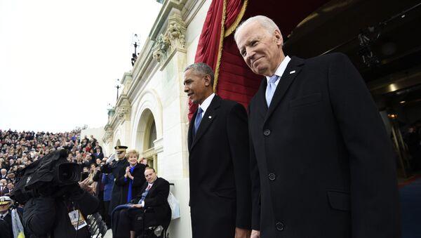 Barack Obama i Joe Biden - Sputnik Polska