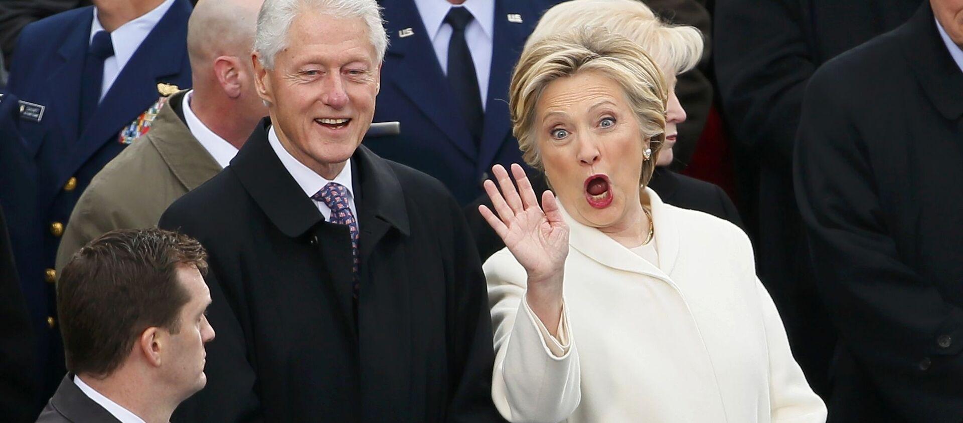 Bill Clinton i Hillary Clinton - Sputnik Polska, 1920, 26.08.2020