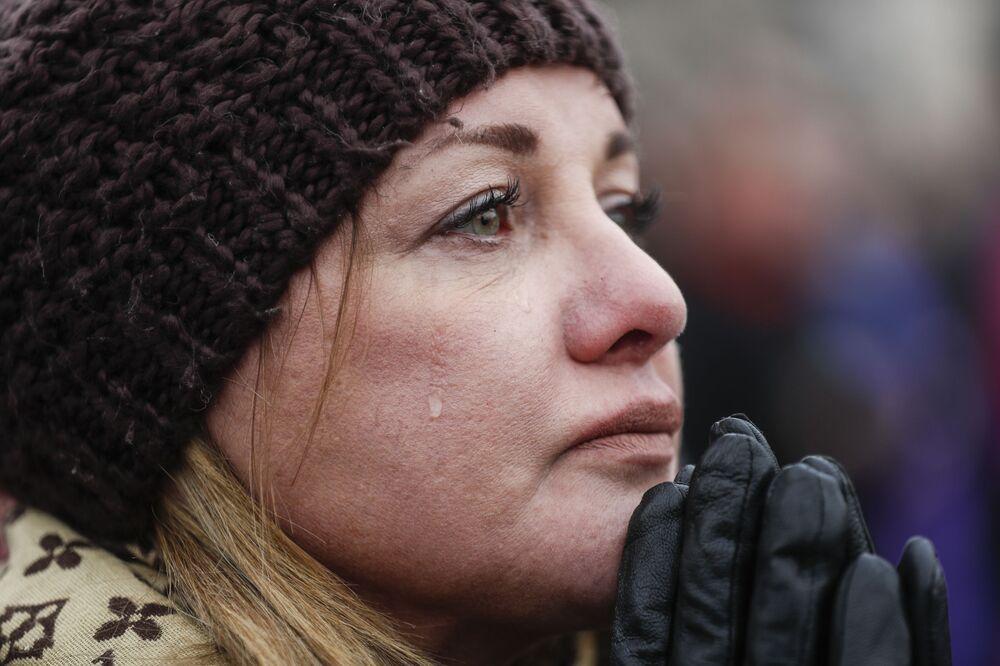 Amerykanka Cheryl Edmondson podczas ceremonii inauguracji