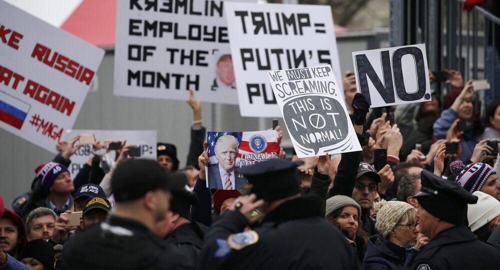 Prezydent Stanów Zjednoczonych Donald Trump skomentował na Twitterze masowe protesty w wielu amerykańskich miastach po jego zaprzysiężeniu