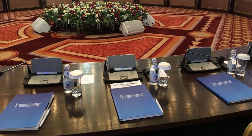 Rozmowy nt. Syrii w Astanie