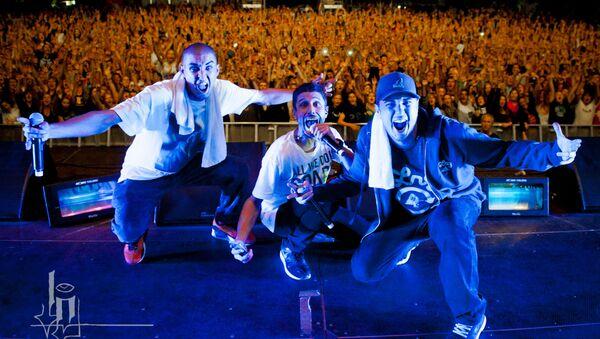 Koncert grupy hip-hopowej Bliss n Eso - Sputnik Polska
