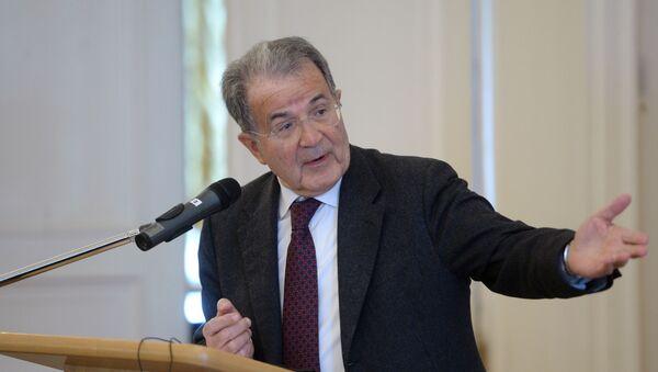 Wykład byłego premiera Włoch Romano Prodiego - Sputnik Polska
