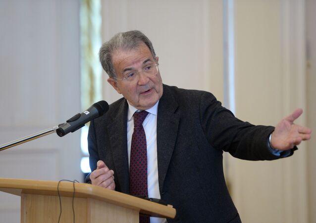 Wykład byłego premiera Włoch Romano Prodiego
