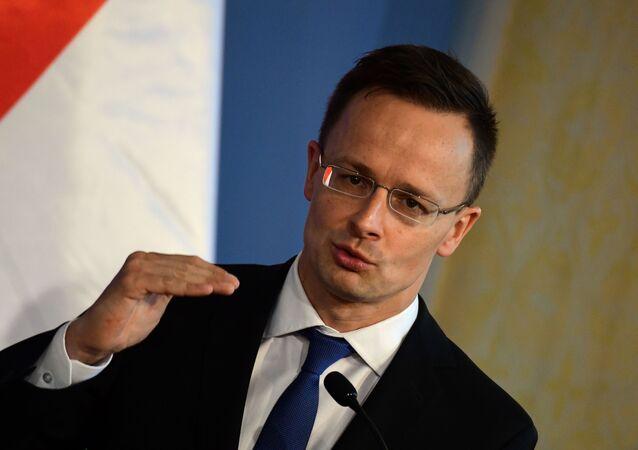 Minister spraw zagranicznych Węgier Péter Szijjártó