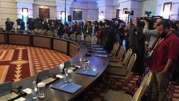 Rozmowy o przyszłości Syrii w Astanie - Sputnik Polska