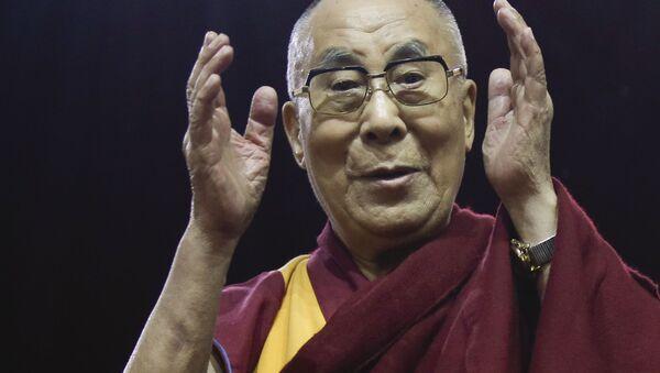 Przywódca duchowy Tybetańczyków Dalajlama - Sputnik Polska