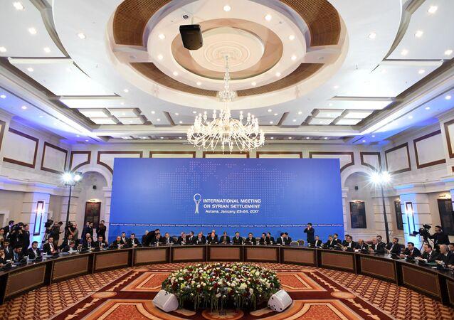 Spotkanie w Astanie w sprawie rozwiązania syryjskiego konfliktu