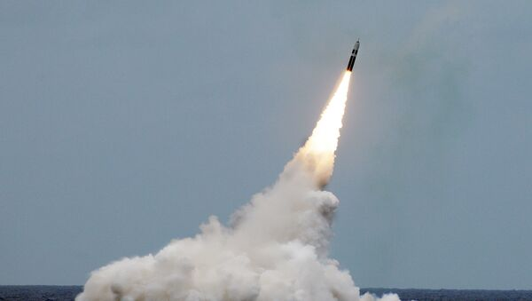 Rakieta Trident II D5 wystrzelona u wybrzeży Florydy - Sputnik Polska