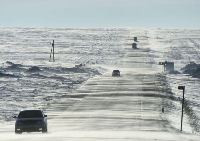 Autostrada Aczyńsk-Użur w Kraju Krasnojarskim