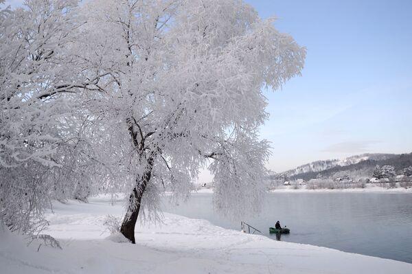 Piękna zimowa Syberia - Sputnik Polska