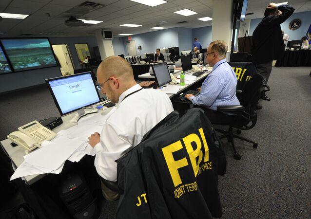 Agenci FBI pracują w Nowym Jorku