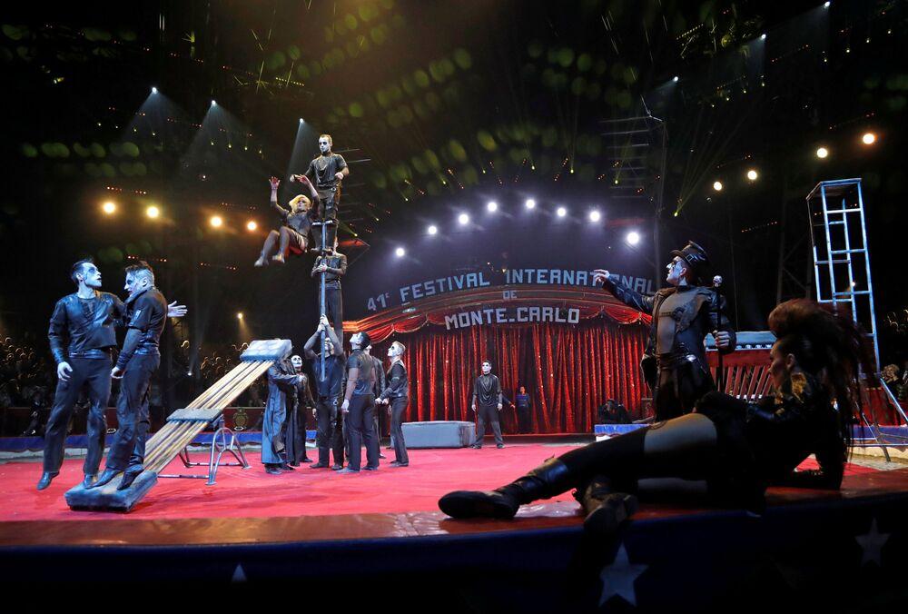 41 Międzynarodowy Festiwal Cyrkowy w Monte Carlo