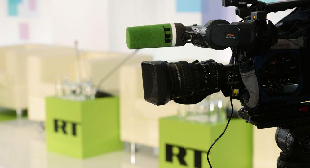 Biuro RT w Moskwie.