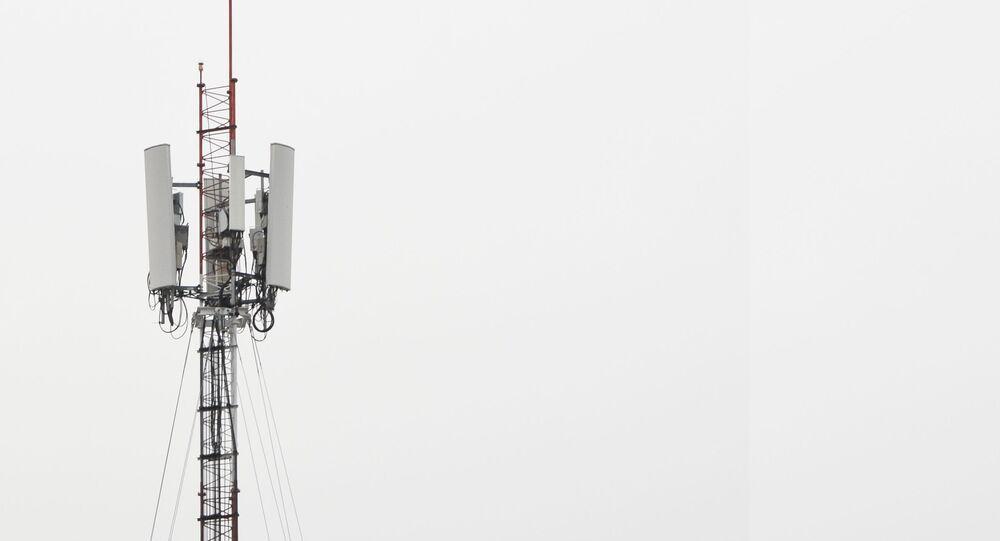 Wieża komunikacyjna.