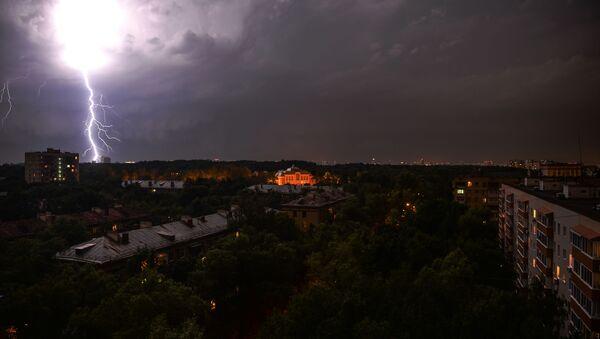 Burza w Moskwie - Sputnik Polska
