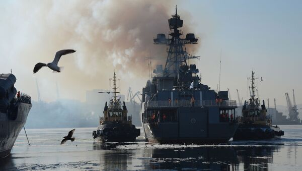 Grupa rosyjskich okrętów przybyła z Japonii do Władywostoku - Sputnik Polska