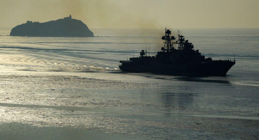 """Duży okręt przeciwrakietowy """"Admirał Tribuc"""""""