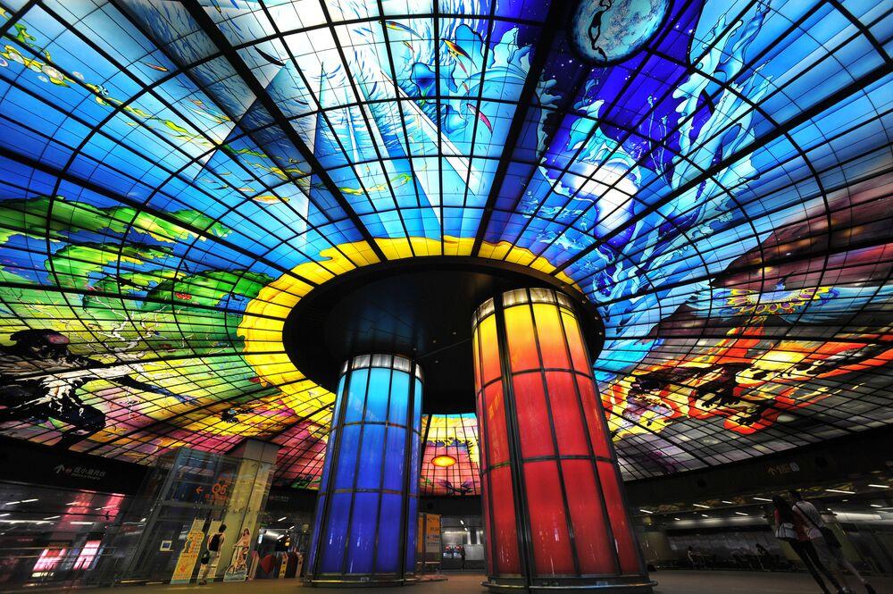 Stacja metra Formosa Boulevard Station, Tajwan