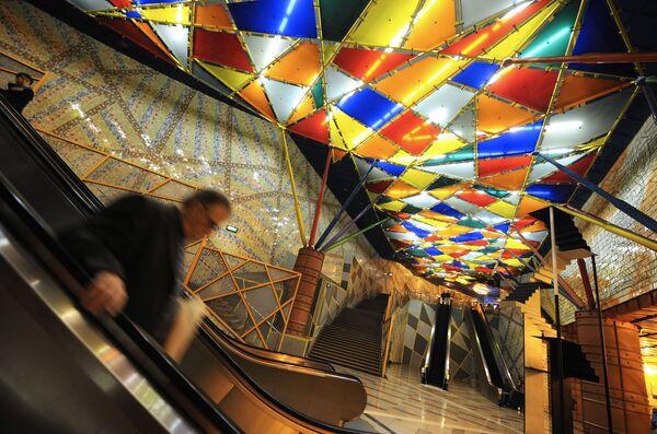 Stacja Olaias w Lizbonie, Portugalia - Sputnik Polska