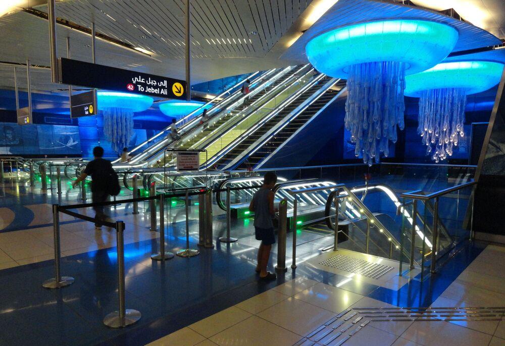 Stacja Burjuman, Dubaj, Zjednoczone Emiraty Arabskie