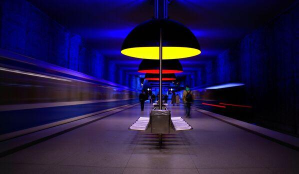 Stacja Westfriedhof, Monachium, Niemcy - Sputnik Polska