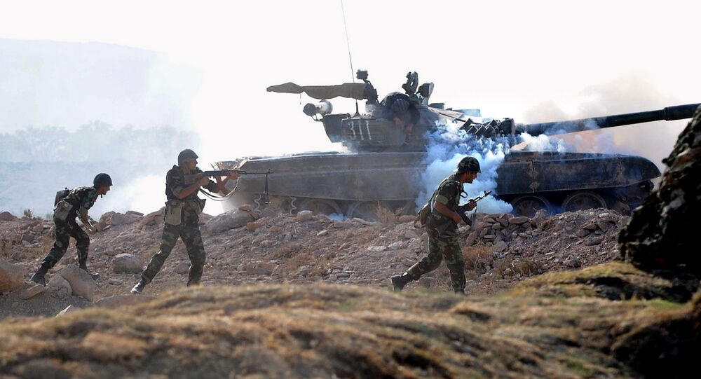 Ormiańsko-rosyjskie ćwiczenia wojskowe