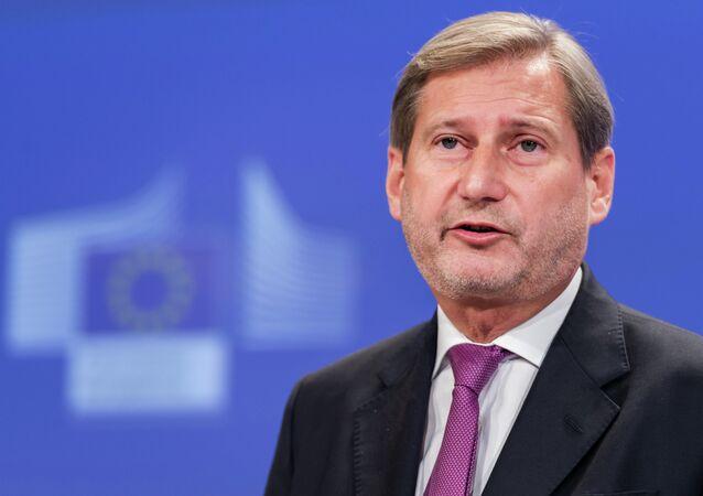 Komisarz europejski ds. Europejskiej Polityki Sąsiedztwa i negocjacji akcesyjnych Johannes Hahn