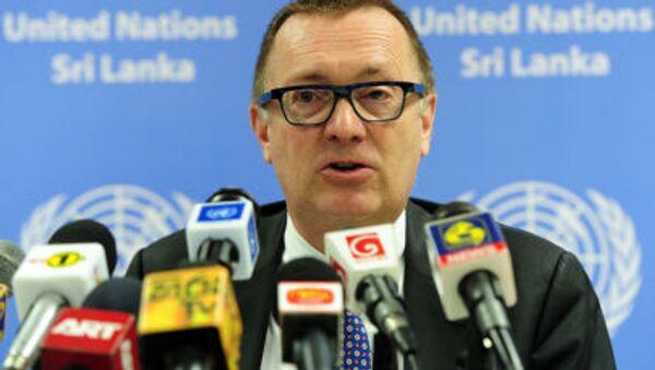 Zastępca sekretarza generalnego ONZ do spraw politycznych  Jeffrey Feltman - Sputnik Polska