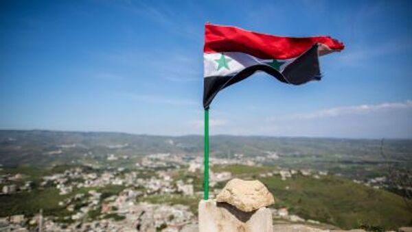Flaga Syrii - Sputnik Polska