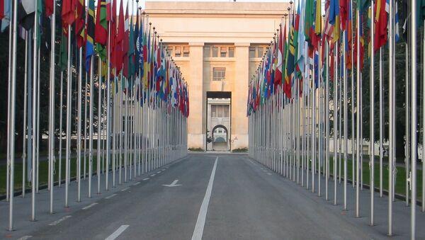 Budynek ONZ w Genewie - Sputnik Polska