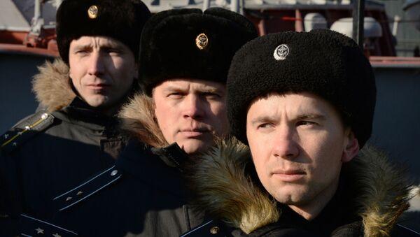 Marynarze rosyjskiej floty podwodnej - Sputnik Polska