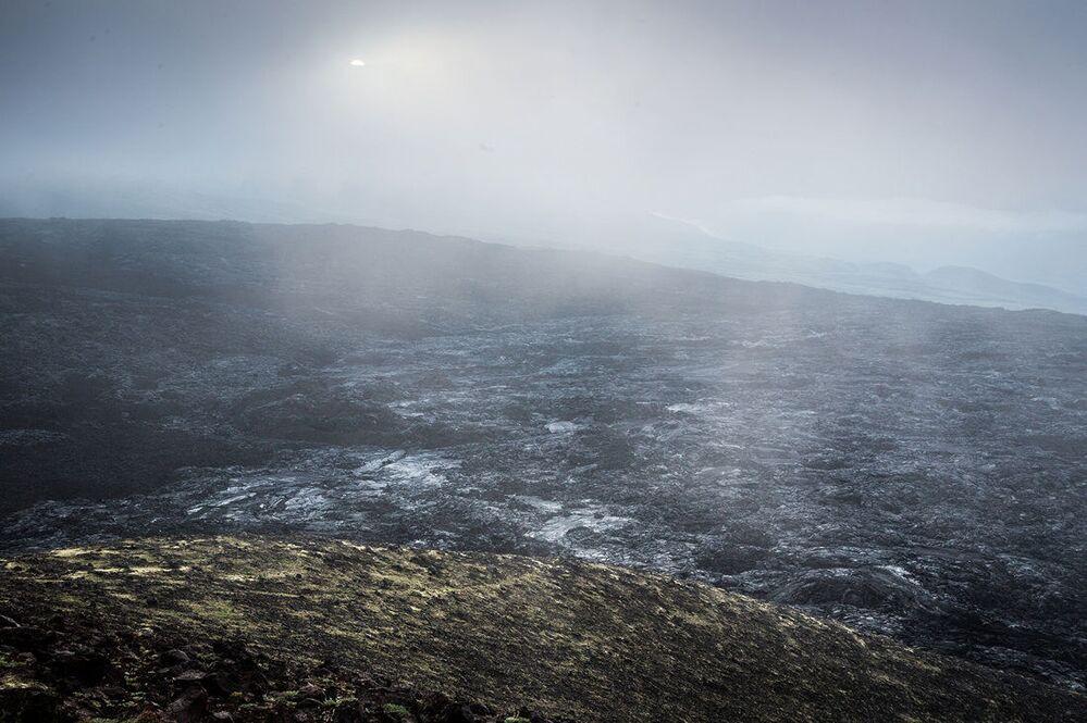 Czarne pola lawy erupcji z 2013 roku zniszczyły wszystko, co żywe w promieniu wielu kilometrów dookoła