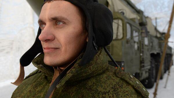 Żołnierz Strategicznych Sił Rakietowych, obwód nowosybirski - Sputnik Polska