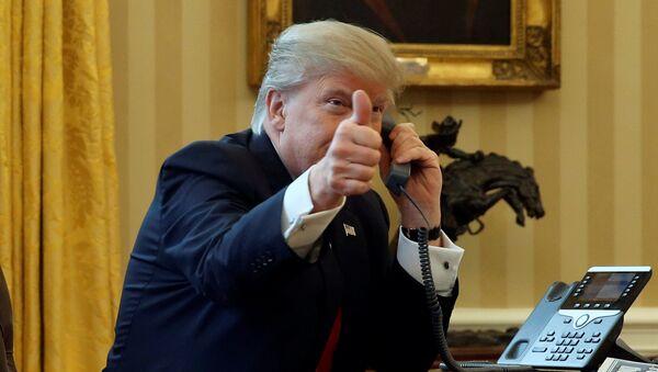 prezydent USA Dolnald Trump - Sputnik Polska
