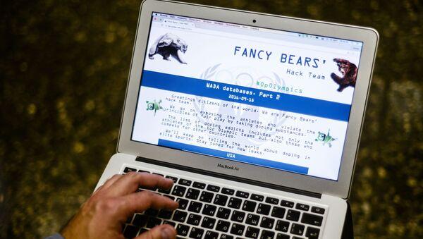 Strona grupy hakerskiej Fancy Bear - Sputnik Polska