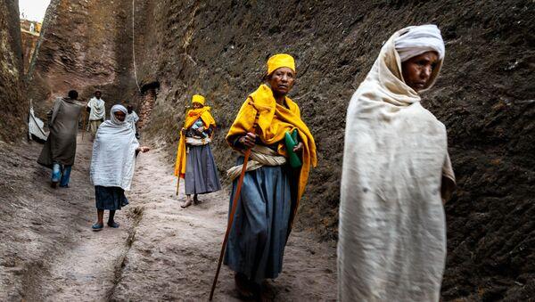 "Praca fotografa Mario Adario ""Etiopia"" - Sputnik Polska"