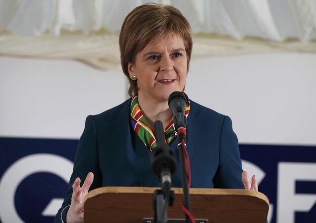 Pierwszy minister Szkocji Nicola Sturgeon