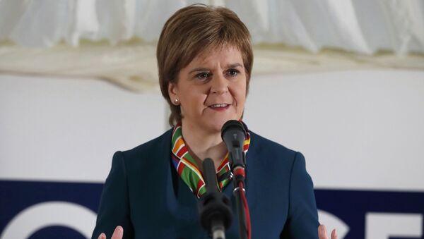 Pierwszy minister Szkocji Nicola Sturgeon  - Sputnik Polska