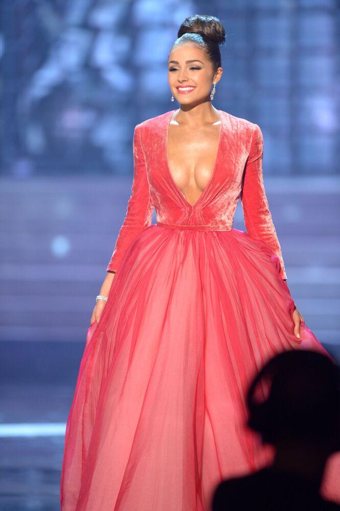 Zwyciężczyni konkursu Miss Universe 2012 Olivia Culpo z USA